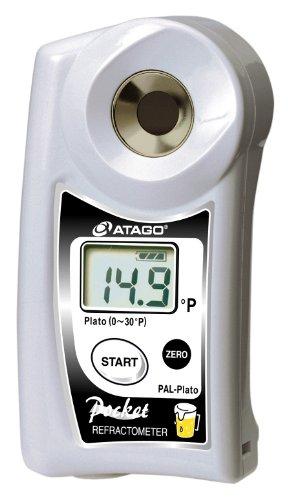 Atago 4590 Digital Hand Held Pocket Plato Refractometer for