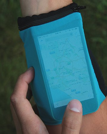 Sprigs Touch Banjees Wrist Wallet Turquoise Blue -