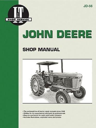 john deere shop manual 2840 2940 2950 jd 56 penton staff rh amazon com John Deere 2950 Tractor John Deere 6000