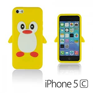 OnlineBestDigital - Penguin Style Silicone Case for Apple iPhone 5C - Yellow
