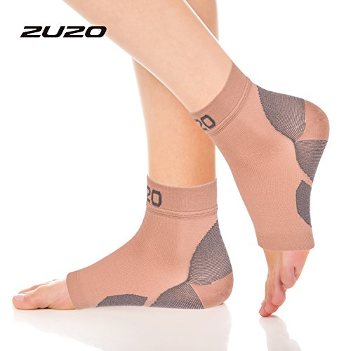 2U2O Compression Plantar Fasciitis Socks-Compression Foot Sleeves for Men & Women, Arch Pain and Swelling Relief, Ankle Brace Support, Heel Spurs Ankle Sprain by 2U2O