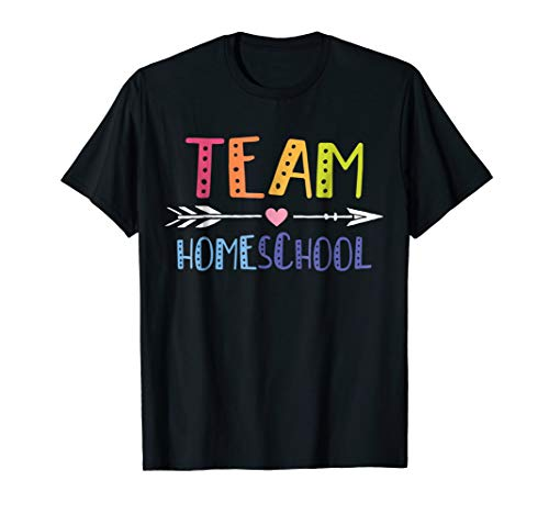 Team Homeschool Cute Teacher Gift Shirt
