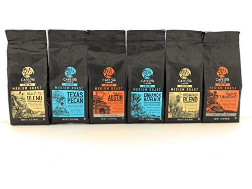 Cafe Ole' Gourmet Coffee Gift Sampler -