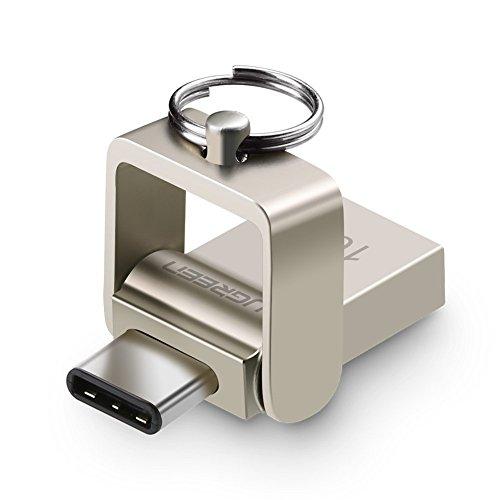 USB Sticks Ugreen 2 in 1 USB C Flash Laufwerk USB 3.1 Type C und USB 3.0 Speicherstick 16GB USB Memory Stick für Smartphone, Tablet, PC und mehr