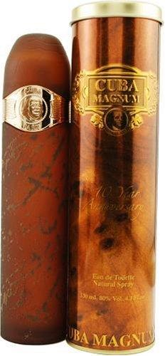 Cuba Paris Perfume De France Cuba Magnum HommeMen, Eau De Toilette, VaporisateurSpray, 130 Ml. 1 Unidad 100 g