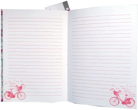 160 Ruled Pages Pepperpot Sunday Morning A5 Perfect Bound Notebook Journal Size 210mm x 148mm