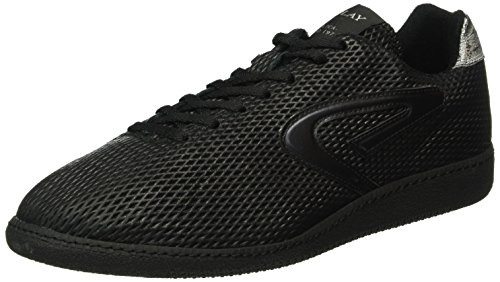 Replay Herren Replica Scatto Pulse Low-Top Schwarz (Black 3)