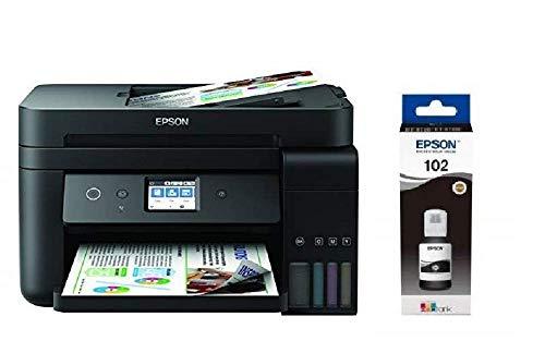 Epson EcoTank ET-4750 4800 x 1200DPI Inyección de Tinta A4 33ppm WiFi - Impresora multifunción (Inyección de Tinta, Impresión a Color, 4800 x 1200 ...