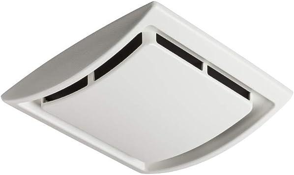 broan nutone qk60s broan bathroom ventilation grille upgrade quickkit 2 5 sones 60 cfm fan motor white