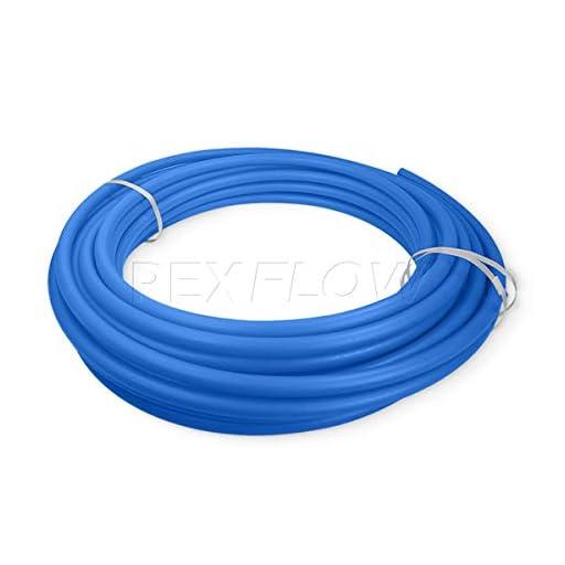 Pexflow PFW-B34300 PEX Potable Water Tubing Non-Barrier Pipe, 3/4 Inch x 300 Feet, Blue