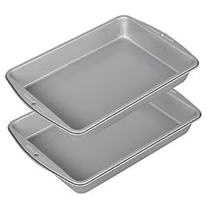 Wilton Recipe Right 9x13 Oblong Pan, 2-Pack