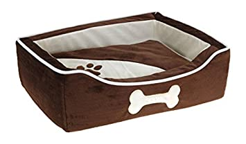 EMA Cama para Perros 48x38 cm - Negro: Amazon.es: Productos para mascotas