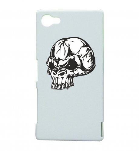 "Smartphone Case Apple IPhone 7 ""Totenkopf Skelett Kopf Kult Rockerclub Kutte Logo Motorradclub Gothic Biker Skull Emo Old School"" Spass- Kult- Motiv Geschenkidee Ostern Weihnachten"
