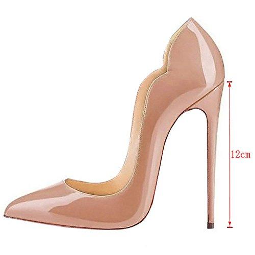 EKS - Zapatos de Tacón Mujer Nackt