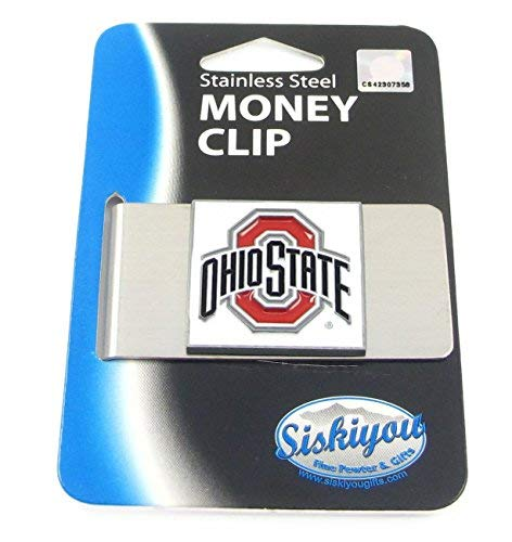 Ohio State Buckeyes Large Money Clip/Card Holder - NCAA College Athletics Fan Shop Sports Team Merchandise