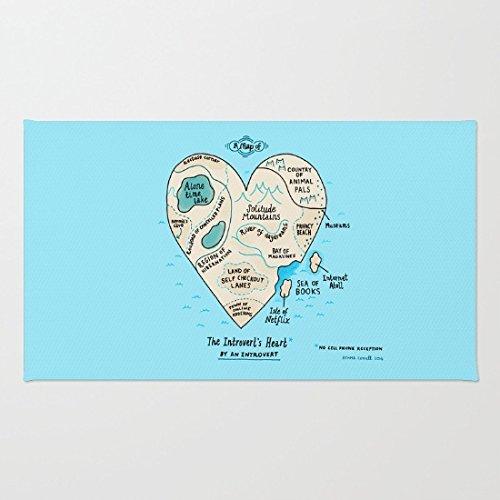 a-map-of-the-introverts-heart-durable-coral-velvet-doormat-indoor-outdoor-floor-mat