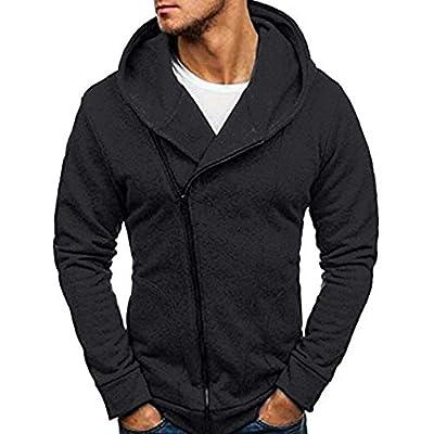 ZEFOTIM Men's Long Sleeve Autumn Winter Casual Sweatshirt Hoodies Coat Tracksuits Jacket
