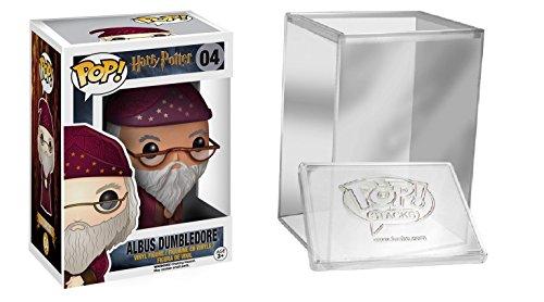 Funko Pop: Movies: Harry Potter- Albus Dumbledore Figure + FUNKO PROTECTIVE CASE