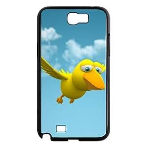 Samsung Galaxy N2 7100 Cell Phone Case Black Funny Cartoon Animals Lilgc