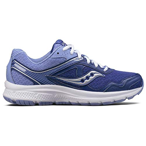 Saucony Women's Cohesion 10 Running Shoe, Mauve, 7 M US (Best Walking Shoes For Supination)