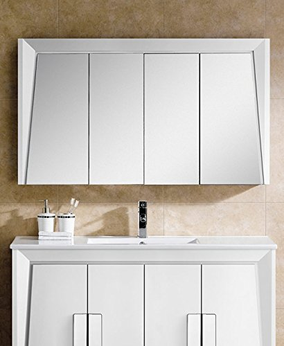 Fine Fixtures ILMC48WH Imperial II Medicine Cabinet, 48'', White by Fine Fixtures