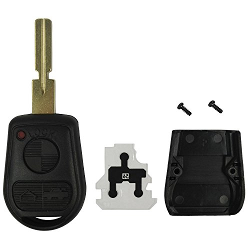 Replacement Keyless Remote Fob Key Shell Case For BMW 318i 323i 525i 528i 530i 535i 540i 735i 740i 740iL M3 M5 X5 Z3 Z8 LX8FZV (740i Part)