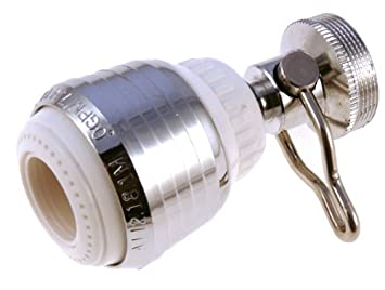 Kitchen Faucet Aerator On/Off / Water Saving Swivel Spray Stream 1.50 Gpm
