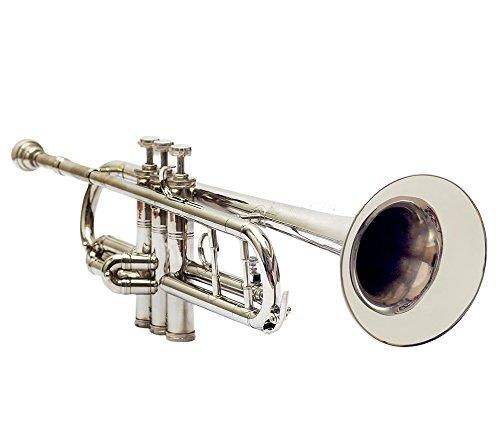 Queen Brass Bb Finish Brass Band Trumpets Beginner Chrome