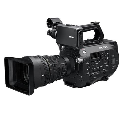 Sony PXW-FS7K 4K XDCAM Super35 Camera with 28 to 135mm E-Mount Zoom f/4 G OSS Lens, 1/3 to 1/9,000sec Shutter Speed by Sony