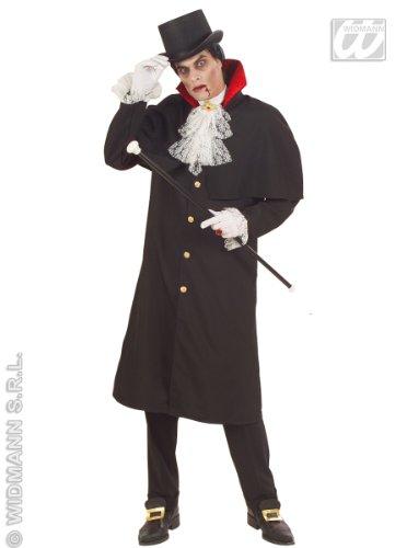Mens Count Dracula Heavy Costume Extra Large Uk 46