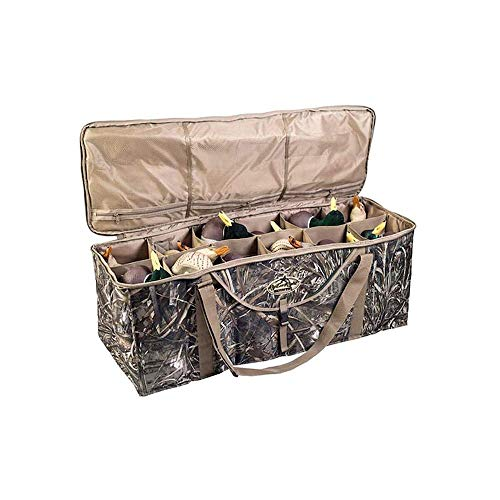 Rig Em Right Waterfowl 12-Slot Deluxe Duck Decoy Bag - Optifade Timber Camo