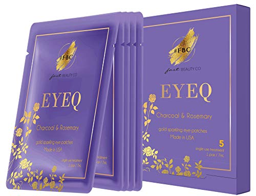 Fast Beauty Co. EyeQ Gold 5 Pairs Under Eye Patches With Charcoal & Rosemary from Fast Beauty Co.