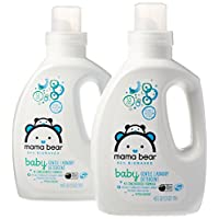 Mama Bear Gentle Baby Laundry Detergent, 95% Biobased, Bearly Blossom Scent, ...