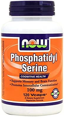 Now Foods Phosphatidyl Serine 100mg 120 Vcaps
