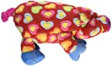 Grriggles Whole Hearted Hog Pet Toy, Red