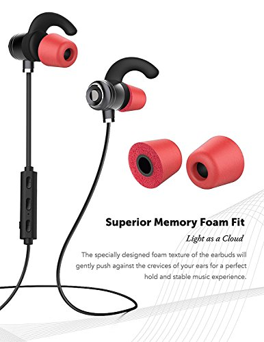 Sonim XP STRIKE Bluetooth Headset In-Ear Running Earbuds IPX4 Waterproof with Mic Stereo Earphones, CVC 6.0 Noise Cancellation, works with, Apple, Samsung,Google Pixel,LG by Ixir (Image #5)