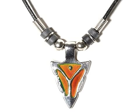Celtalux Arrowhead Mood Necklace (Necklace For Men Cool)