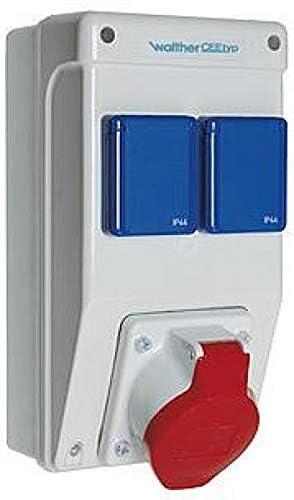 6570105 - Caja de enchufes de plástico para pared: Amazon.es: Electrónica