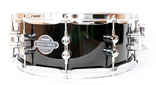 Details about Sonor SEF 1455 Select Force 7 Layered Maple Snare Drum 14 x 5.5 Piano Black