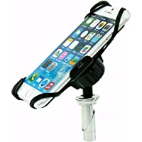 BuyBits Dedicated 17.5-20.5mm (0.68-0.81 inches) Fork Stem Sports Motorcycle Mount for iPhone 6 & 6S (4.7)