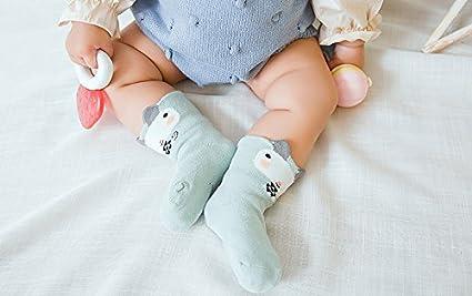 CoCoCute Baby Socks Toddler Socks Infant Socks Cartoon Pattern Girls Boys Ankle Socks