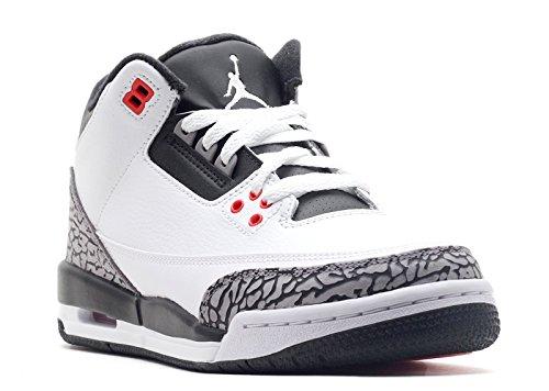 Nike Air Jordan 3 Retro Bg (gs) Infrarossi 23 - 398614-123 - Taglia 6.5