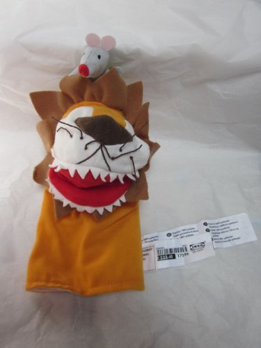 IKEA KLAPPAR CIRCUS Lion and Mouse Hand Puppet 11
