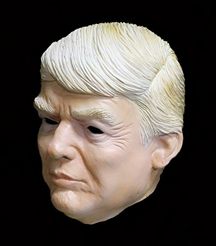 COMLZD® Adult Male Human Realistic Mask Donald Trump American Politician TV Personality Trump Party Masks