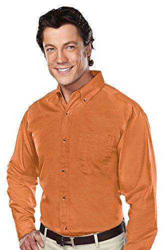 Tri Mountain 770 Professional W Dupont  Teflon Stain Resistant Shirt  Texas Orange  3Xl