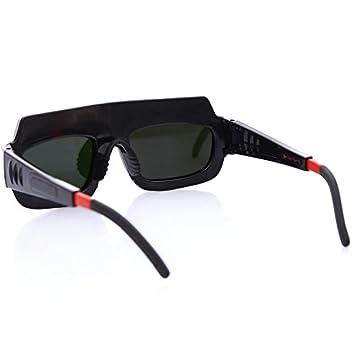 MASUNN Gafas De Luz Variable Automática Protección Ocular Soldadura Arco Argón Soldadura Protección UV: Amazon.es: Hogar