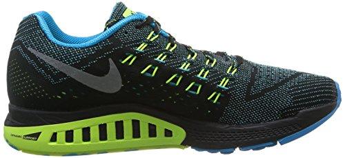 Nike Air Zoom Structure 18 - Zapatillas para hombre Blue Lagoon/Rflct Slvr-Vlt-Blk