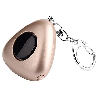 OKILA 120dB Personal Alarm LED Flashlight Keychain - SOS Emergency Personal Safety Alarm Sirens for Women, Kids, Girls, Elderly - Self Defense Protection Electronic Device Bag Decoration Sirens