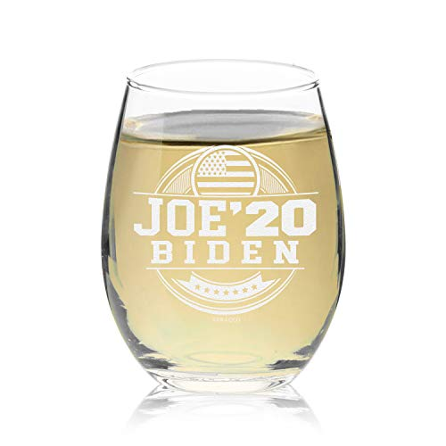 Riesling 2020 - Veracco Joe Biden '20 Circle Stemless Wine Glass (J Biden Circle)