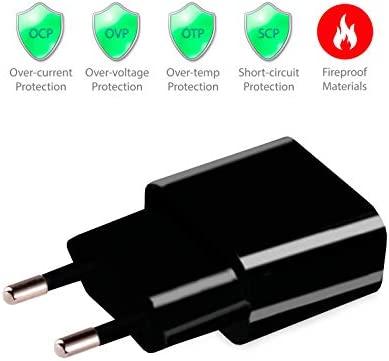 MyGadget 2X Cargador Plug Universal Smartphone y Tablet - USB Conector 5V / 2A - Enchufe de Pared para Apple iPad, iPhone, Samsung Galaxy, Huawei - ...